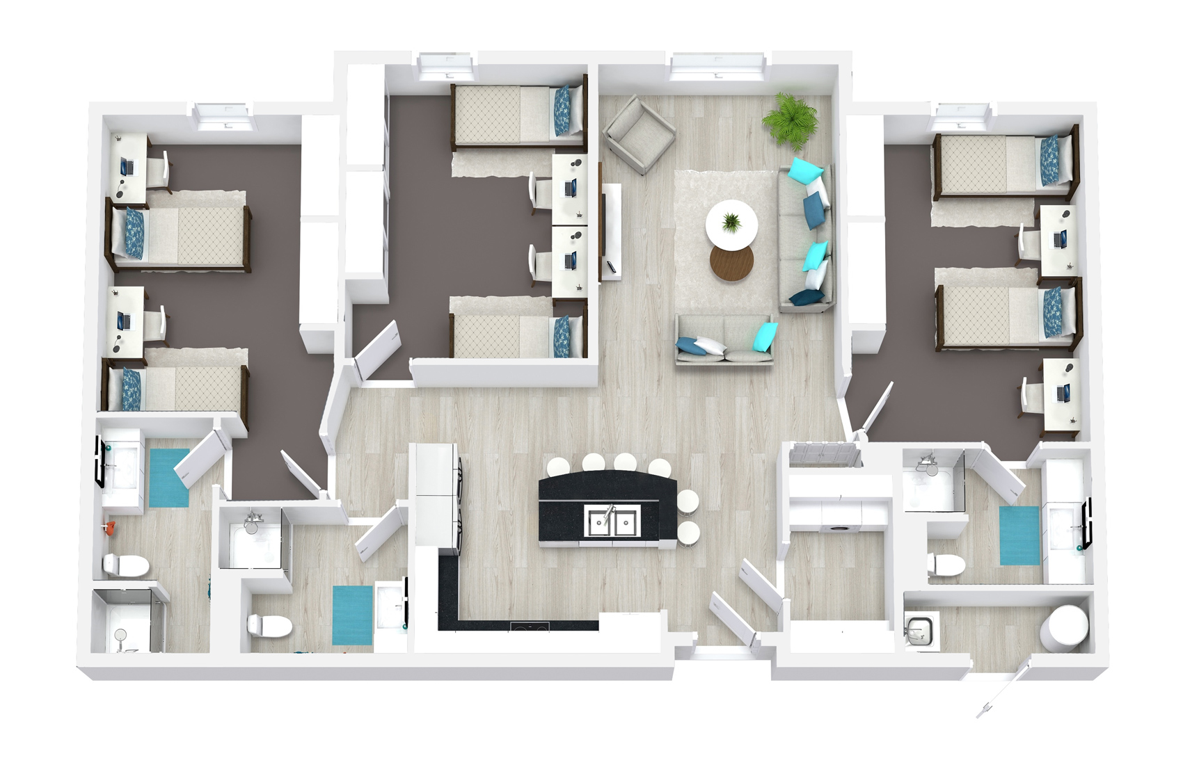 Abri Apartments Floor Plans