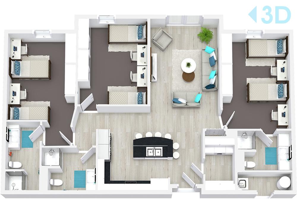 Abri Apartments Floor Plans