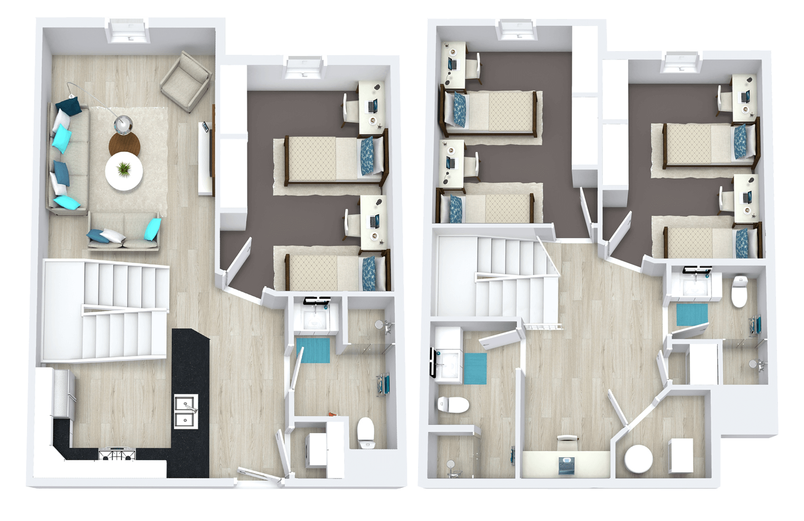 townhome home fp img